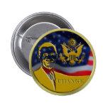 Eagle, Obama, Change - Customized Pin