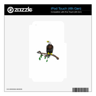 Eagle On Branch Decal For iPod Touch 4G