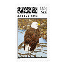 Eagle on the Mississippi Postage