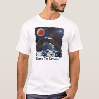 Eagle & Outer Space Fantasy Wildlife Shirt