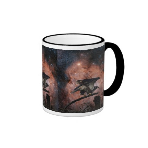 Eagle outer space gifts coffee mugs zazzle for Outer space gifts