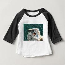 Eagle Owl Baby T-Shirt
