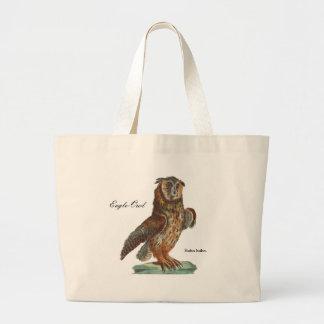 Eagle-Owl - Bubo bubo Jumbo Tote Bag