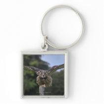 Eagle Owl (Bubo bubo) Keychain