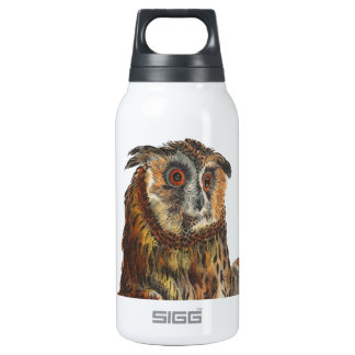 Eagle-Owl - Bubo bubo 10 Oz Insulated SIGG Thermos Water Bottle