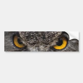 Eagle Owl Bumper Sticker