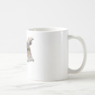Eagle owl -. Eagle Owl Coffee Mug