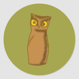 Eagle owl Eagle owl Sticker