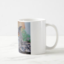 Eagle Owl Face Looking Right at You! Coffee Mug