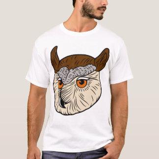 Eagle Owl Head T-Shirt