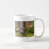 Eagle Owl in Flight Coffee Mug