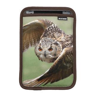 Eagle Owl In Flight iPad Mini Sleeves