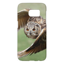 Eagle Owl In Flight Samsung Galaxy S7 Case