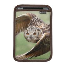 Eagle Owl In Flight Sleeve For iPad Mini