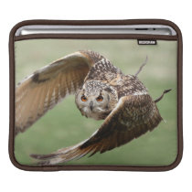 Eagle Owl In Flight Sleeve For iPads