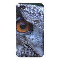 Eagle Owl iPhone4 Case