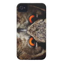 Eagle-Owl iPhone 4 Case-Mate Case
