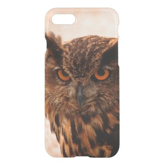 Eagle owl iPhone 7 Clearly™ Deflector Case