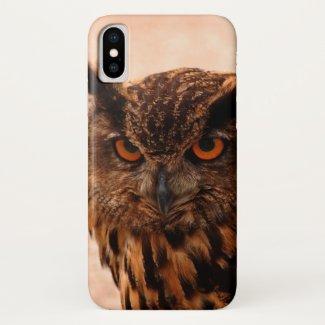 Eagle owl... iPhone x case