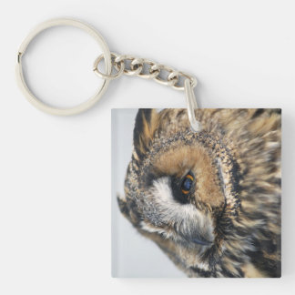 Eagle Owl Keychain