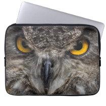 Eagle Owl Laptop Sleeve