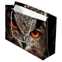 Eagle Owl Large Gift Bag