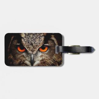Eagle-Owl Luggage Tags