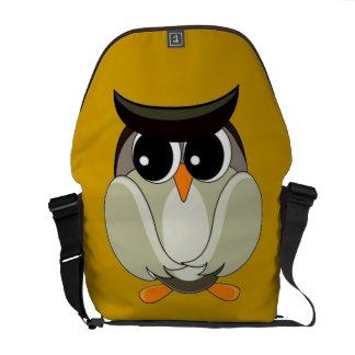 Eagle Owl Messenger Bag
