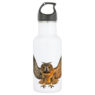 Eagle Owl 18oz Water Bottle