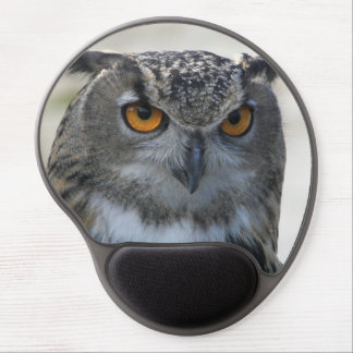 Eagle Owl Photo Gel Mouse Pad