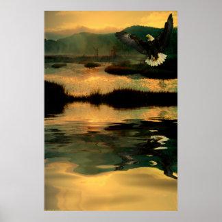 Eagle-Paint-2 Poster