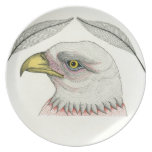 eagle party plate