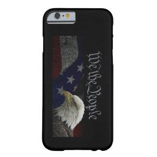 Eagle patriótico y bandera