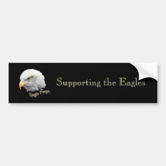 Eagle Peeps Car Bumper Sticker