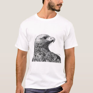 Eagle Pen and Ink Drawing T-Shirt
