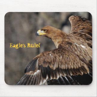 Eagle - personalizable - reconocimiento - logro mousepad