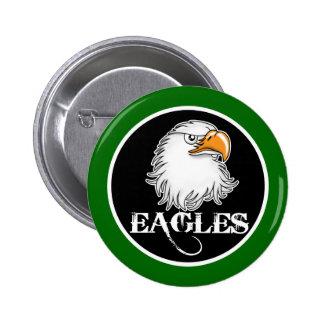 Eagle Pin Redondo De 2 Pulgadas