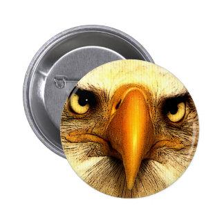 Eagle Pinback Button