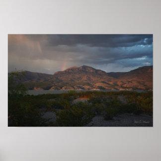 """""""Eagle Point Rainbow"""" Print"""