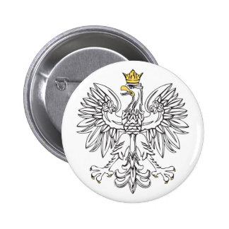 Eagle polaco con la corona del oro pins