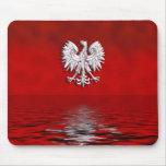Eagle polaco Levitate el cojín de ratón Tapete De Raton