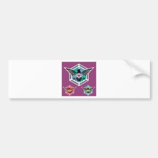 Eagle polygon Logo vector Bumper Sticker