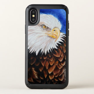 Eagle Portrait Art Speck iPhone X Case