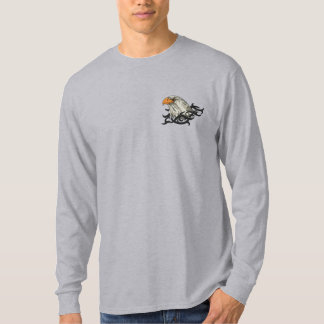 Eagle Portrait Embroidered Long Sleeve T-Shirt