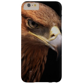 Eagle portrait isolated on black barely there iPhone 6 plus case