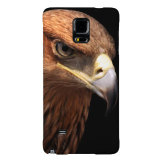 Eagle portrait isolated on black galaxy note 4 case