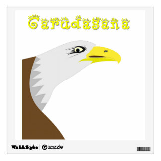 Eagle Pose Wall Sticker