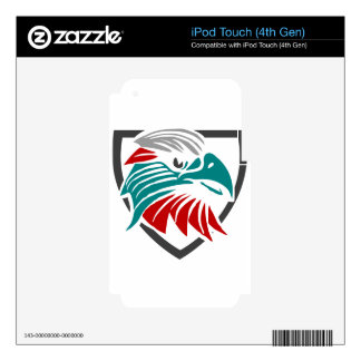 Eagle Pride And Protection Decal For iPod Touch 4G
