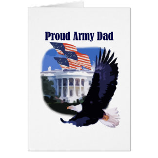Eagle Proud Army Dad Tshirts and Gifts Cards