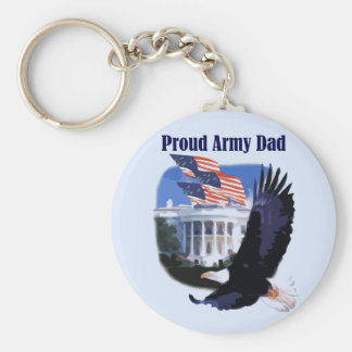 Eagle Proud Army Dad Tshirts and Gifts Key Chains